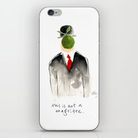 this is not a magritte iPhone & iPod Skin