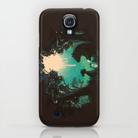 Galaxy S4 Cases featuring The Conversationalist by Budi Kwan