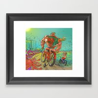 Spring Break Training Framed Art Print