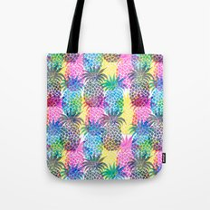 Pineapple CMYK Repeat Tote Bag