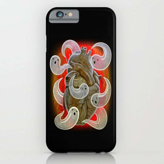 """A HEART FULL OF GHOSTS"" iPhone & iPod Case"