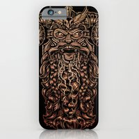 iPhone & iPod Case featuring Viking Rabies by Brewer Arts