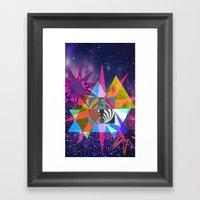 Geospace Framed Art Print