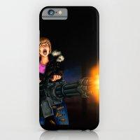 Gatling Girl iPhone 6 Slim Case