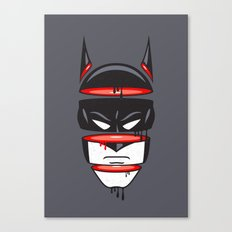 Defrag Man Canvas Print