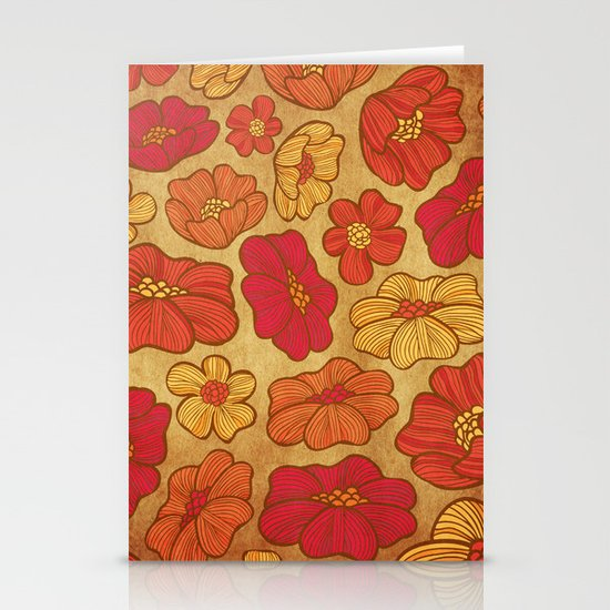 Embers Stationery Card