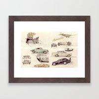 Mercedes-Benz-Museum, Stuttgart Framed Art Print
