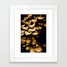 Put it on the shelf. Framed Art Print