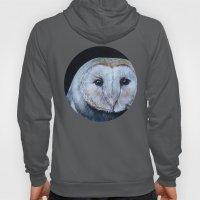 Dark Barn Owl Hoody