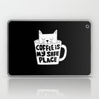 coffee is my safe place Laptop & iPad Skin