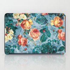 Floral And Marble Textur… iPad Case