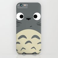 iPhone Cases featuring Dubiously Troll ~ My Neighbor Troll by Canis Picta