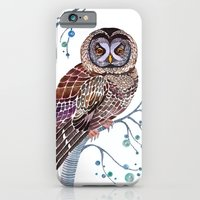 iPhone & iPod Case featuring lacy owl by ola liola