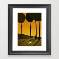 That Perfect Day Framed Art Print