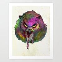 Color Burst Art Print