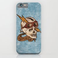 iPhone & iPod Case featuring Old Timey Tattoo Design by Adam Metzner