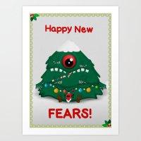 Happy New Fears Art Print