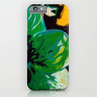 iPhone & iPod Case featuring Green Flower by Astrid Fox