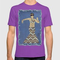 Belly dancer 4 Mens Fitted Tee Ultraviolet SMALL