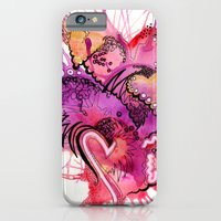 iPhone & iPod Case featuring Six Valentines by CSNSArt