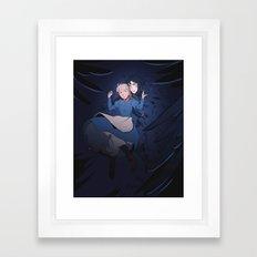 A Heavy Burden Framed Art Print