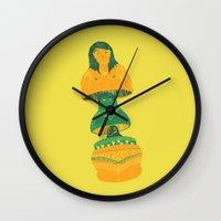 matrioch-coquine Wall Clock