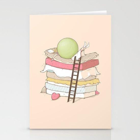 Can't sleep Stationery Card