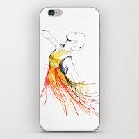 Yulia iPhone & iPod Skin