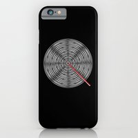 iPhone & iPod Case featuring Q like Q by Robert Karpati
