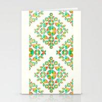 Fantasy Garden Pattern Stationery Cards