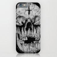 Black blooded iPhone 6 Slim Case