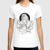 Walrus Womens Fitted Tee White SMALL