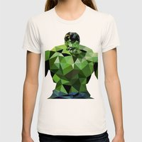 Polygon Heroes - Hulk Womens Fitted Tee Natural SMALL
