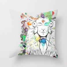 Swayambhu Throw Pillow