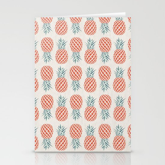 Pineapple  Stationery Card