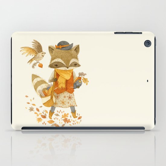 Rebecca the Radish Raccoon iPad Case