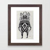 t e z z a  Framed Art Print