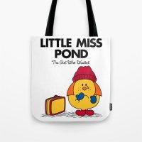 Little Miss Pond Tote Bag