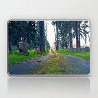 Quiet Cemetery Laptop & iPad Skin