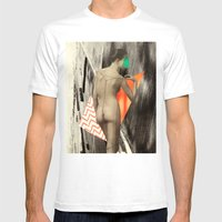 Umbrage Mens Fitted Tee White SMALL