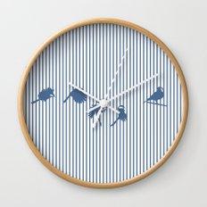 Hidden cage Wall Clock