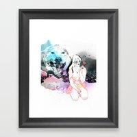 Lolita Wolf Framed Art Print