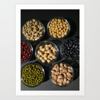 Peas and Beans Art Print