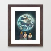 Full Earth () Framed Art Print