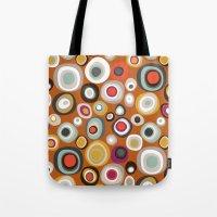Veneto Boho Spot Amber Tote Bag