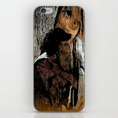 The Little Old Hunter -series with the cave images iPhone & iPod Skin