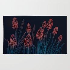 Hyacinths in the night Rug