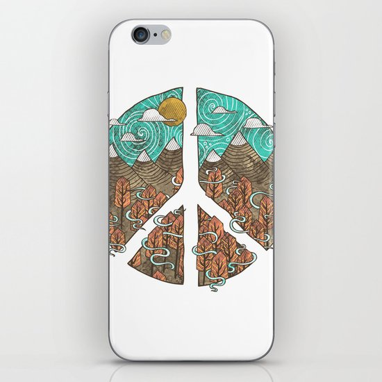 Peaceful Landscape iPhone & iPod Skin