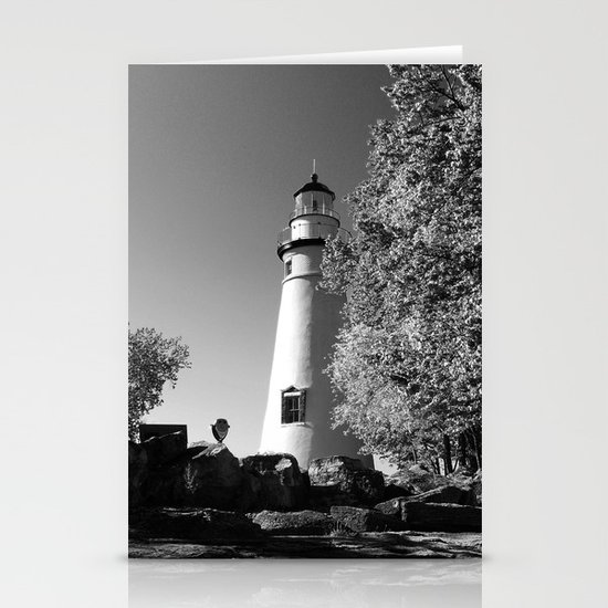 Lighthouse... Stationery Card
