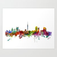 Auckland New Zealand Sky… Art Print